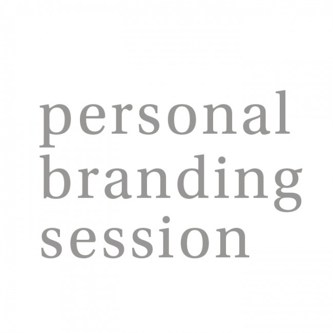 Personal Branding Session