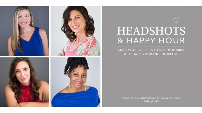 Headshots & Happy Hour