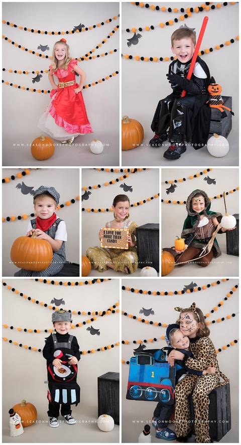 halloween mini sessions portraits