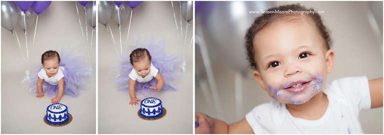 cake smash raleigh north carolina first birthday